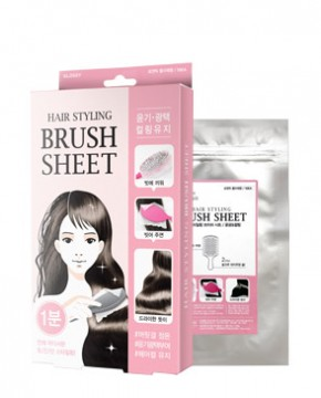 HAIR STYLING BRUSH SHEET (GLOSSY)