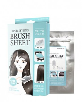 HAIR STYLING BRUSH SHEET (FRESH)