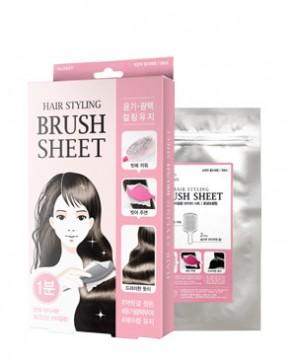 HAIR STYLING BRUSH SHEET (GLOSSY)
